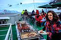 Dinner was a fantastic feast on an outer deck. (25370563234).jpg