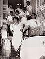 Diosdado Macapagal departing for Malacañang.jpg