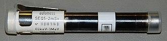 Dosimeter - Image: Direct reading dosimeter