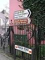 Direction sign, Drumquin - geograph.org.uk - 381001.jpg