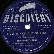 Discovery record by Red Norvo