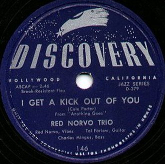 Discovery Records - Discovery record by Red Norvo