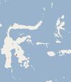 Distribution of Margaretamys christinae.png