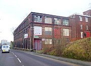 Disused Mill - Edgeley (geograph 2828958).jpg