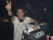 DJ Sammy in 2005, performing at the BCM nightclub in Majorca