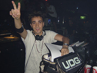 DJ Sammy - DJ Sammy in 2005, performing at the BCM nightclub in Majorca