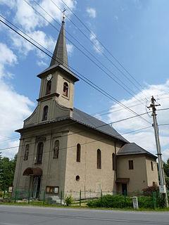Dobratice Village in Moravian-Silesian, Czech Republic