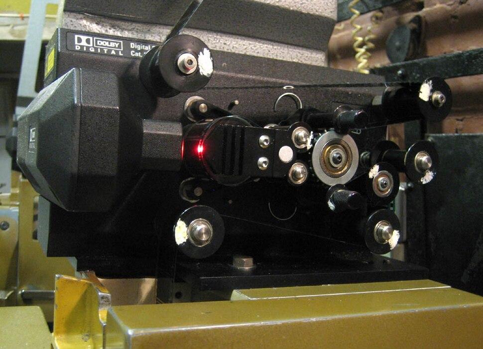 Dolby Digital track reader