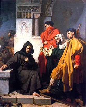 Byzantine Iconoclasm - 19th-century Italian painting, The Iconoclasts, by Domenico Morelli