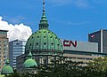 Domes of Mary, Queen of the World, Montreal, from N corner of Peel and Blvd René Lévesque, Montreal.jpg