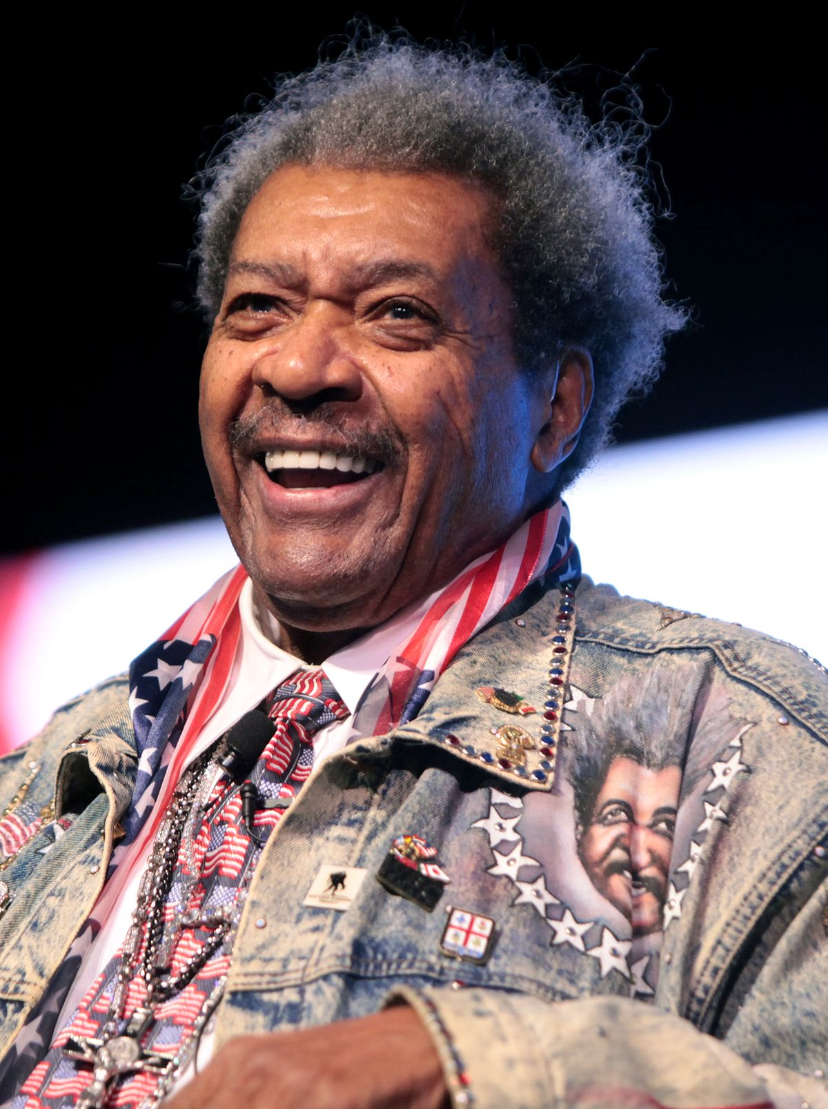 Don King Boxing Promoter
