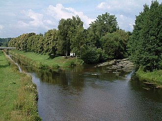 International Commission for the Protection of the Danube River - Image: Donaueschingen Donauzusammenfluss 20080714
