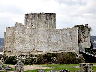 William Douglas, Lord of Liddesdale - Château Gaillard, home of David II during his childhood