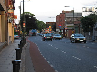 Donnybrook, Dublin - Donnybrook main street looking towards Stillorgan