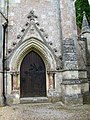 Door, Holy Trinity Church, Fonthill Gifford - geograph.org.uk - 891633.jpg