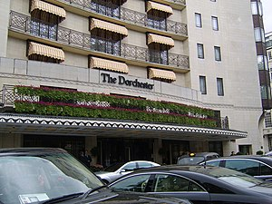 Dorchester Hotel, Mayfair A no doubt very plus...