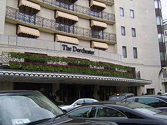 The Dorchester - The exterior facade of the Dorchester.