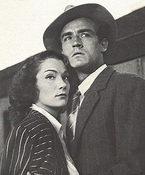 Doris Dowling - Doris Dowling and Vittorio Gassman in Bitter Rice (1948)