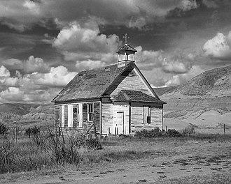 Dorothy, Alberta - Catholic church located in Dorothy, Alberta