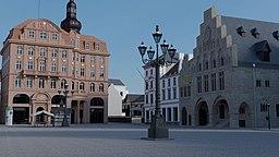 Dortmund Alter Markt 1909 mit Blick Richtung Südosten