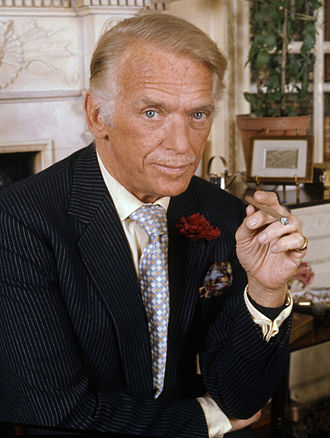 Douglas Fairbanks Jr. - Fairbanks in 1973, by Allan Warren