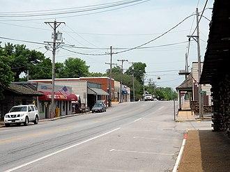 Decatur, Arkansas - Downtown Decatur