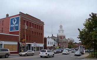 Dover, New Hampshire - Downtown Dover