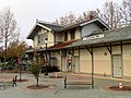 Downtown Mountain View station building (1), November 2018.JPG