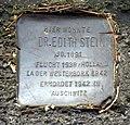 Dr. Edith Stein, Stolperstein in der Freiburger Zasiusstraße 24.jpg