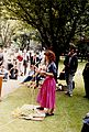 Dr Diana Gibb speaking in Tavistock Sq., Hiroshima Day, 1987 Wellcome L0075348.jpg