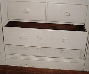 Drawer (furniture) - A drawer