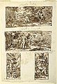 Drawing, Four Drawings of the Myth of Apollo; Decoration of a Wall over a Mantel, Sala di Apollo, Palazzo Cavina, Faenza, 1816 (CH 18123309).jpg
