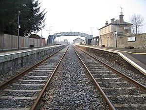 Dromod railway station - Image: Dromod Railway Station, County Leitrim (2) geograph.org.uk 1811184