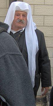 Druze man in Peki'in.