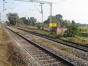 Samastipur–Muzaffarpur section - Image: Dubaha Railway station