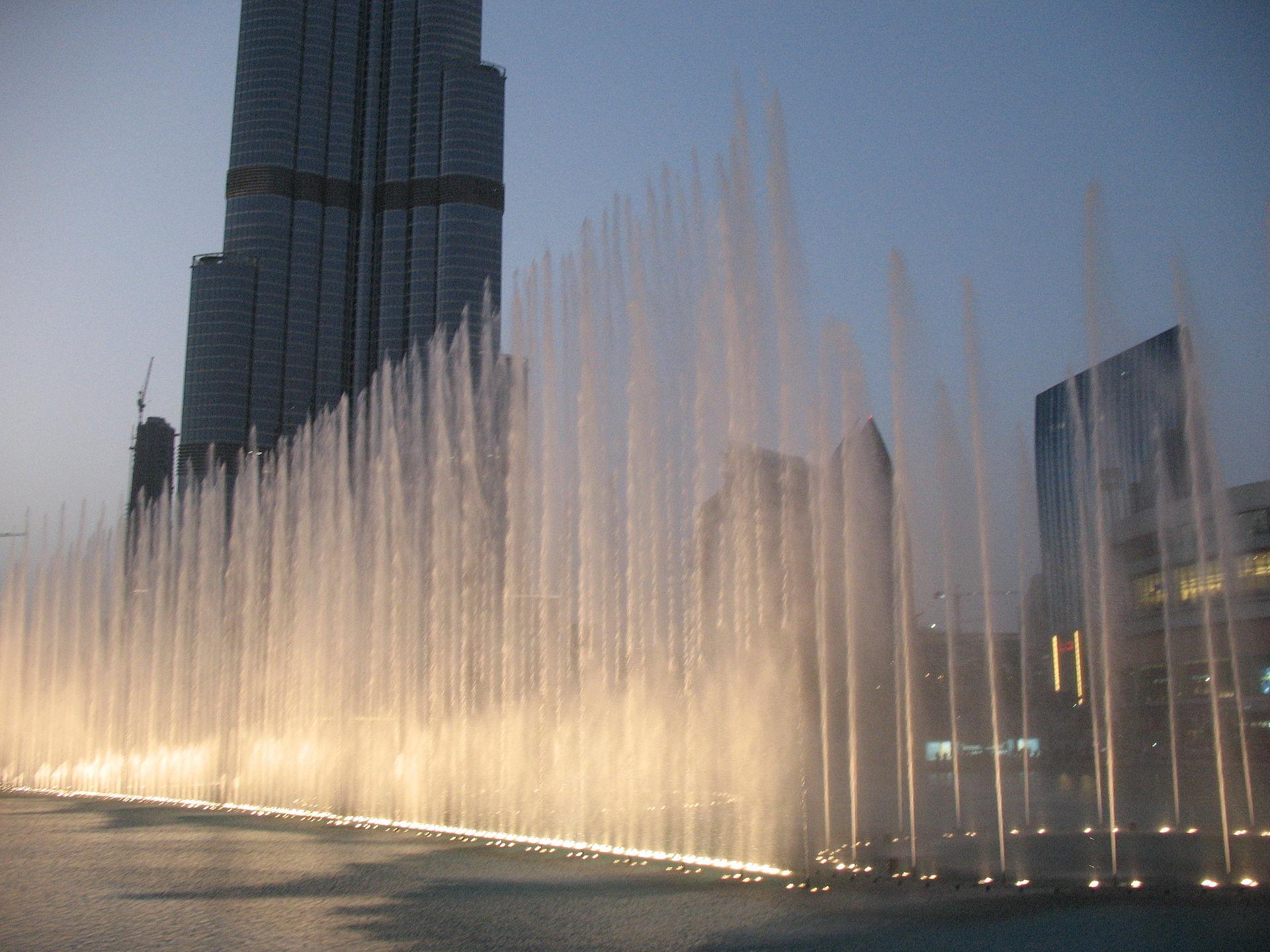 Fuente de Dubái - Wikipedia, la enciclopedia libre