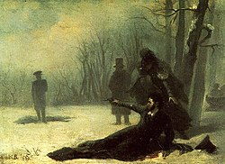 Duel of Pushkin and d'Anthes (19th century).jpg