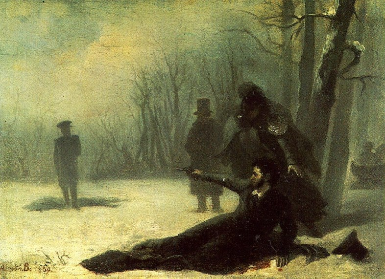 File:Duel of Pushkin and d'Anthes (19th century).jpg