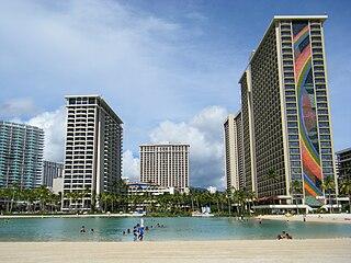 Hilton Hawaiian Village hotel/resort at Waikiki, Honolulu, Hawaii, USA
