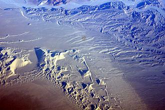 Dumont Dunes - Aerial view of Dumont Dunes.