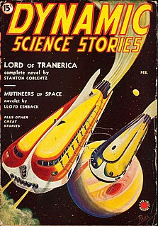 <i>Dynamic Science Stories</i> US pulp science fiction magazine