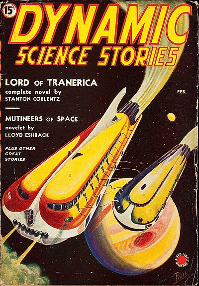 Dynamic Science Stories February 1939