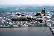 EC-130E PA ANG over Harrisburg 1980