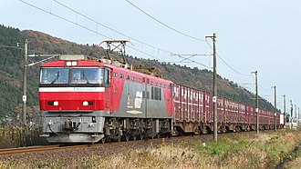 JR Freight Class EH500 - Image: EH500 901 858 20151122