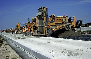 Energetically modified cement - Application of EMC on IH-10 (Interstate Highway), Texas, United States