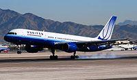 N596UA - B752 - United Airlines
