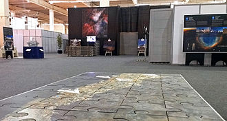 Community of Latin American and Caribbean States - Image: ESO exhibition area at the CELAC–EU summit in Santiago