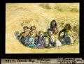 ETH-BIB-Carnac-Plage, Kindergruppe im Sandloch-Dia 247-16366.tif