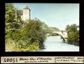 ETH-BIB-Rhone-Klus St. Maurice mit Brücke, abwärts-Dia 247-15005.tif