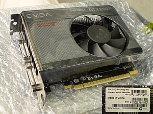 GeForce 600 series - EVGA GeForce GTX 650 Ti